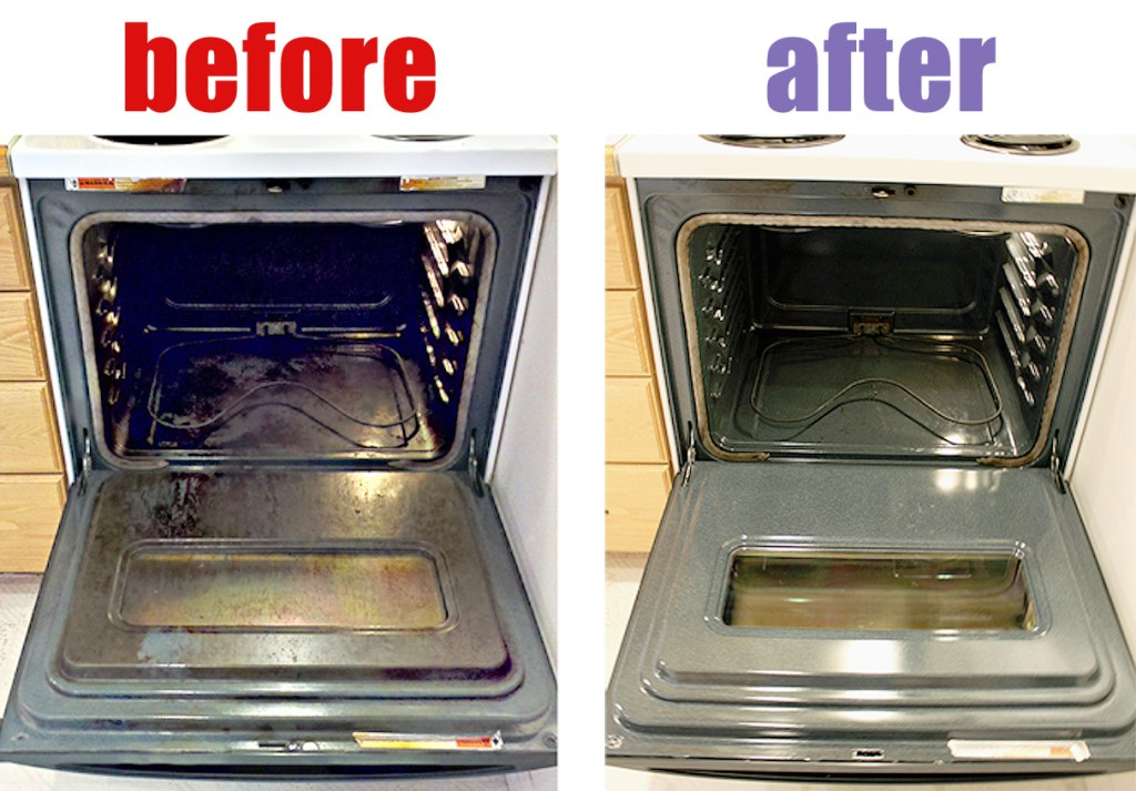 The best way to get your oven clean after thanksgiving How to clean top of oven